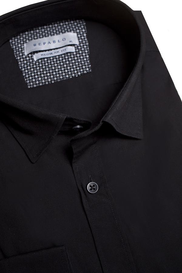 Koszule męskie czarne